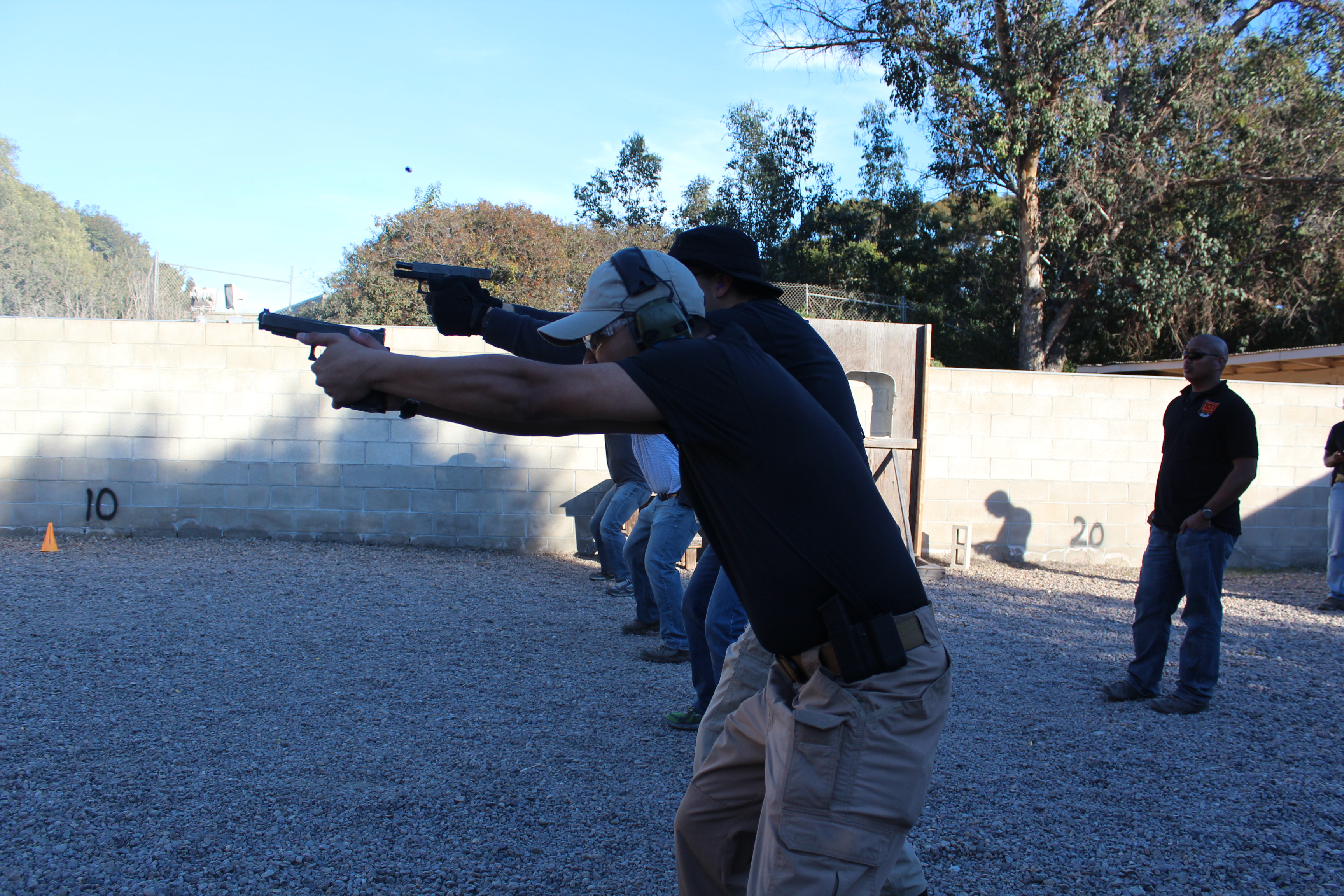 PDN Article – A Handgun, 2 Mags, & $1000…Training on a Budget