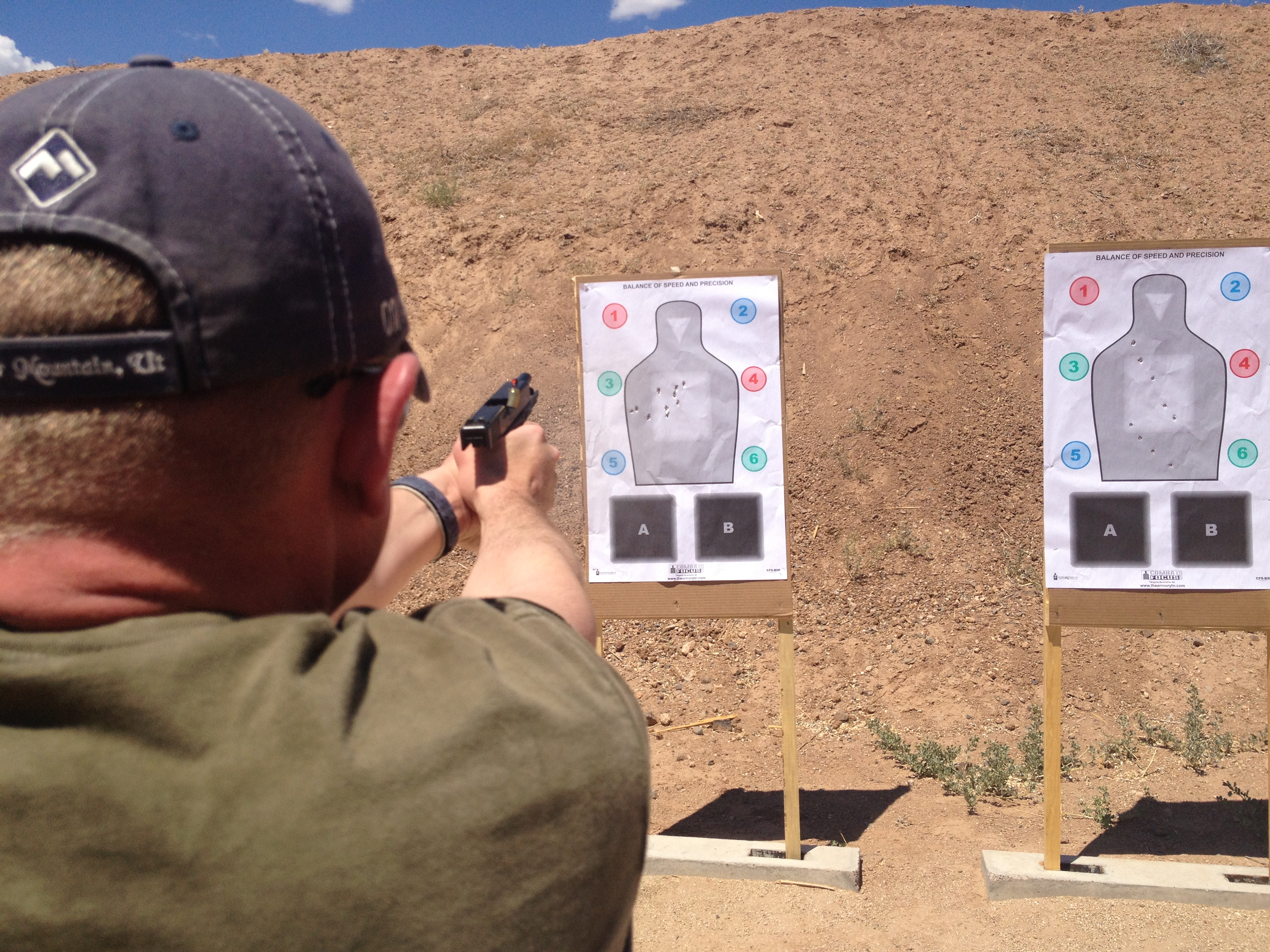 "Combat Focus Shooting…""The EVOLUTION of Defensive Handgun Training!"""