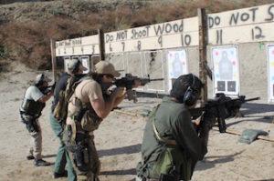 Combat Focus Carbine-Raise, Touch, Press | 10X Defense